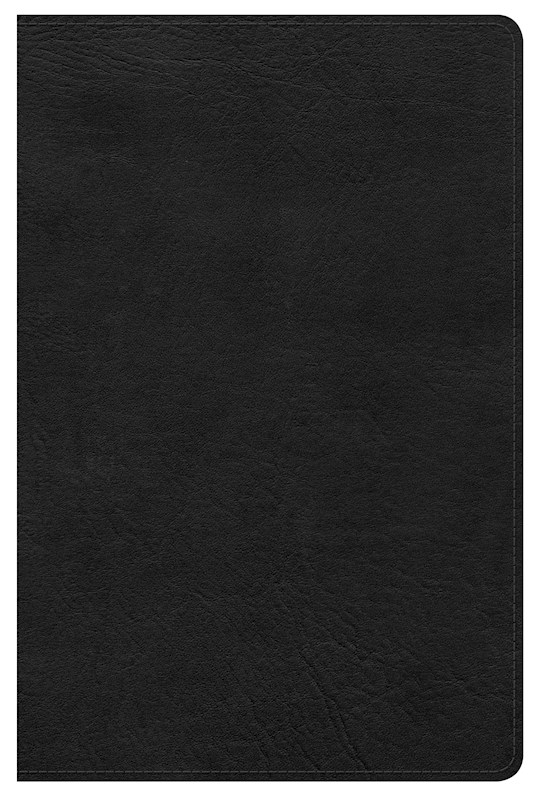 KJV Ultrathin Reference Bible-Black LeatherTouch Indexed | SHOPtheWORD