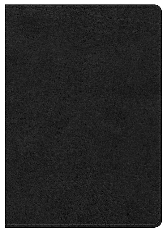 NKJV Large Print Compact Reference Bible-Black LeatherTouch (Not Available-Out Of Print)   SHOPtheWORD