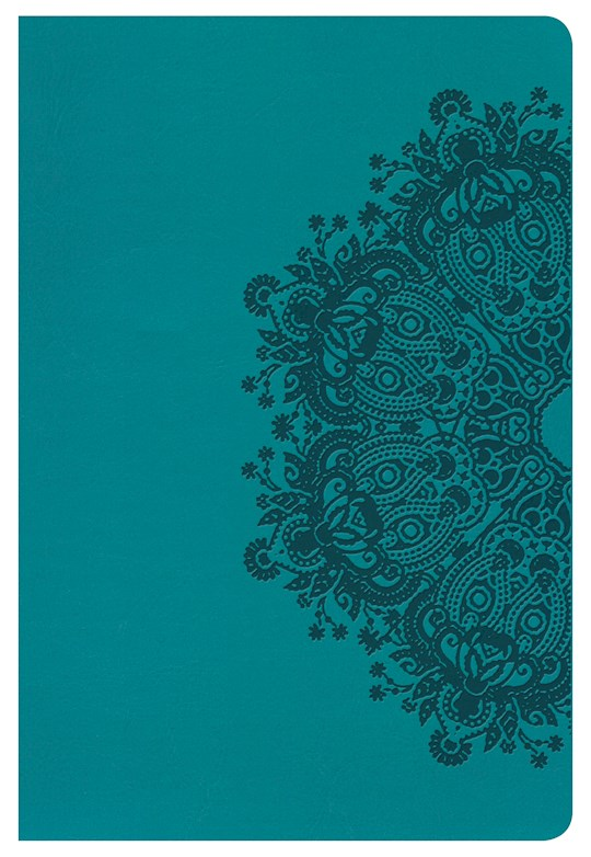 NKJV Large Print Personal Size Reference Bible-Teal LeatherTouch Indexed | SHOPtheWORD