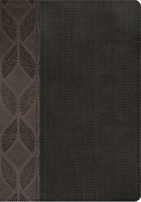 Span-RVR 1960 Compact Large Print Edition (Biblia Compacta Letra Grande)-Geometric/Gray LeatherTouch Indexed | SHOPtheWORD