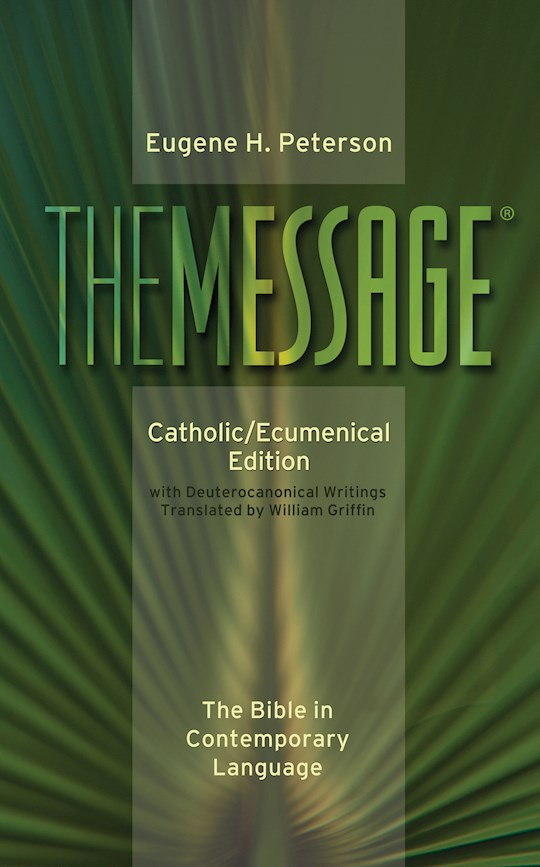 Message: Catholic/Ecumenical Edition-Hardcover  | SHOPtheWORD