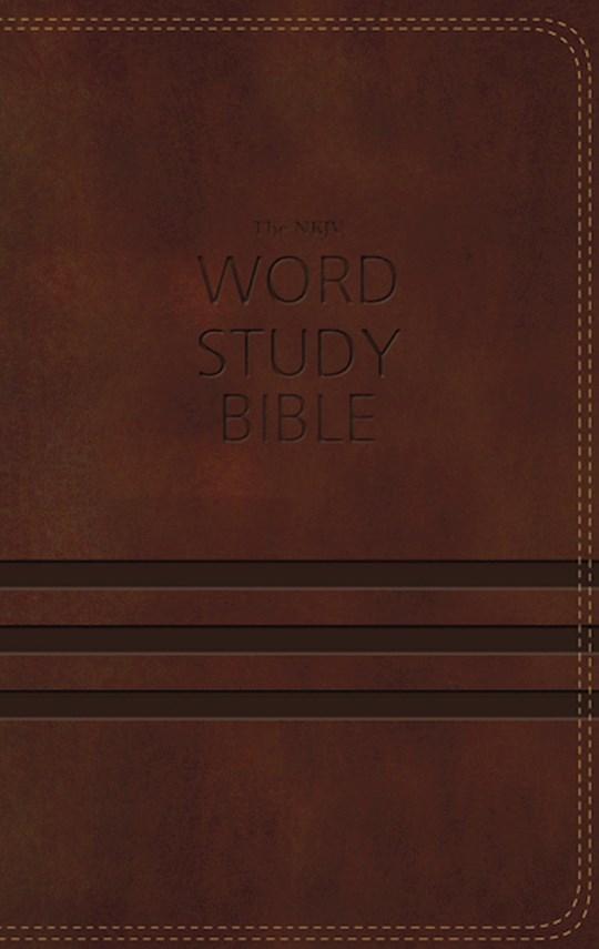NKJV Word Study Bible-Brown LeatherSoft | SHOPtheWORD