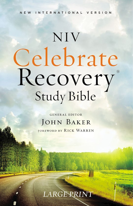 NIV Celebrate Recovery Study Bible/Large Print-Softcover | SHOPtheWORD
