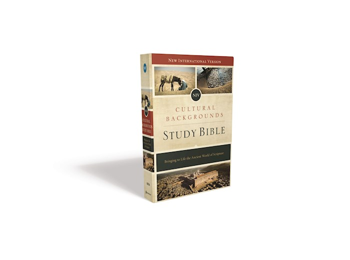 NIV Cultural Backgrounds Study Bible-Hardcover w/Jacket | SHOPtheWORD
