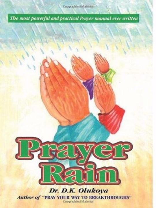 Prayer Rain by Dr D.K. Olukoya   SHOPtheWORD