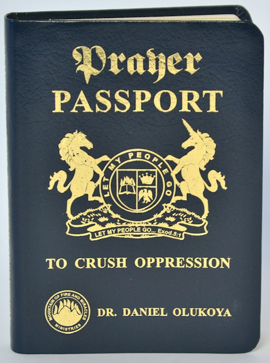 Prayer Passport (Deluxe Edition) Bonded Leather by Dr D.K. Olukoya | SHOPtheWORD