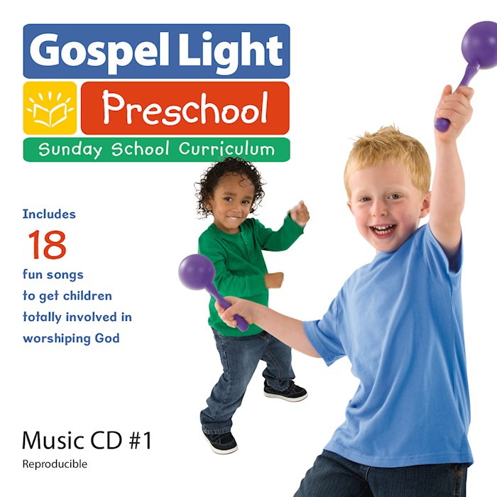 Gospel Light Spring/Summer 2020: Preschool/Pre-K Music CD-Year A (#139005) | SHOPtheWORD
