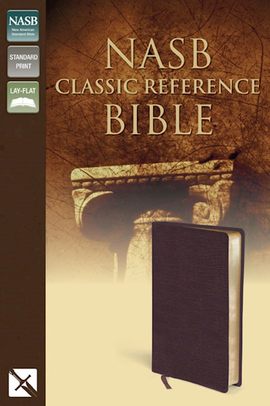 NASB Classic Reference Bible-Burgundy Bonded Leather | SHOPtheWORD