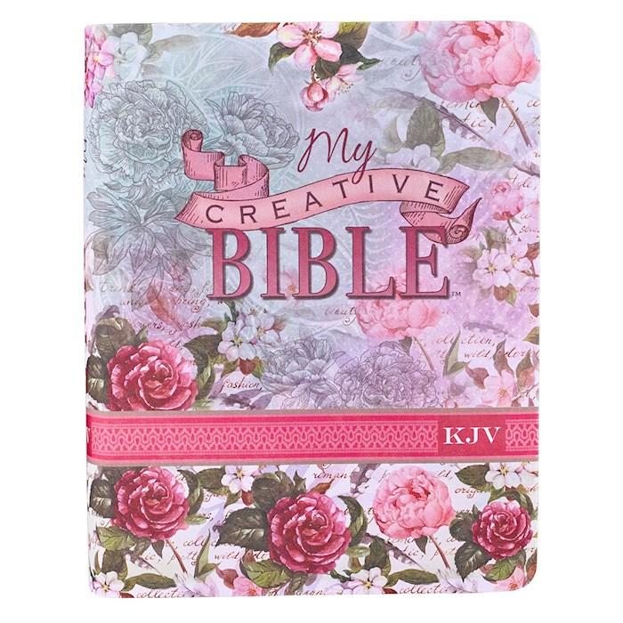 KJV My Creative Bible-Floral Silky Soft Flexcover   SHOPtheWORD