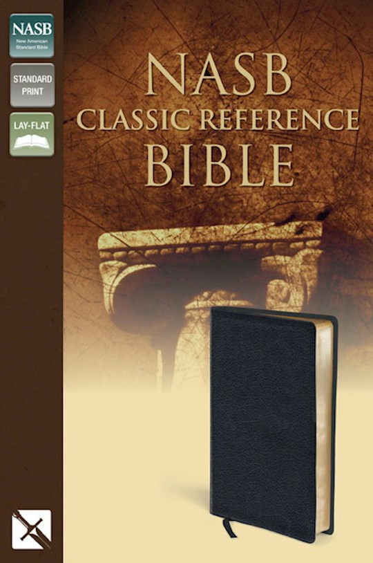 NASB Classic Reference Bible-Black Bonded Leather | SHOPtheWORD