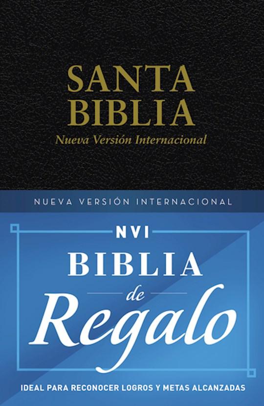 Span-NIV Gift & Award Bible-Black Softcover | SHOPtheWORD