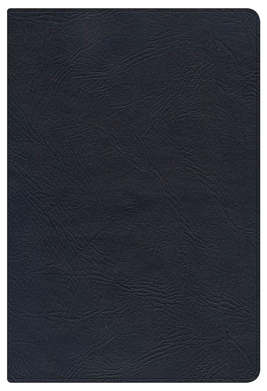 NKJV Large Print Personal Size Reference Bible-Black Genuine Leather | SHOPtheWORD