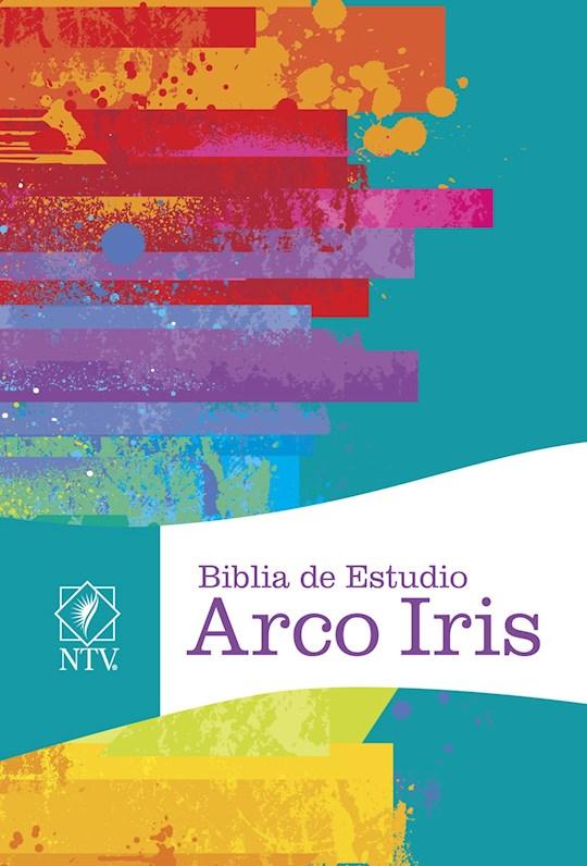 Span-NTV Rainbow Study Bible-Multicolor Hardcover | SHOPtheWORD