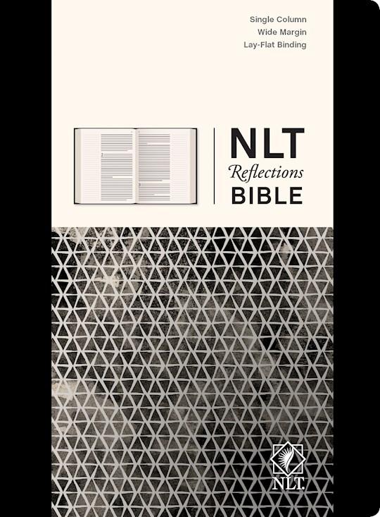 NLT Reflections Bible-Sketchbook Black-Hardcover | SHOPtheWORD