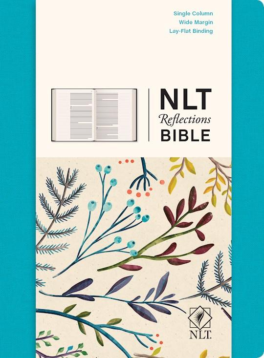 NLT Reflections Bible-Ocean Blue-Hardcover | SHOPtheWORD