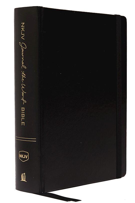 NKJV Journal The Word Bible/Large Print-Black Hardcover | SHOPtheWORD