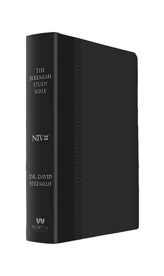 NIV Jeremiah Study Bible-Black Leatherluxe W/Burnished Edges | SHOPtheWORD