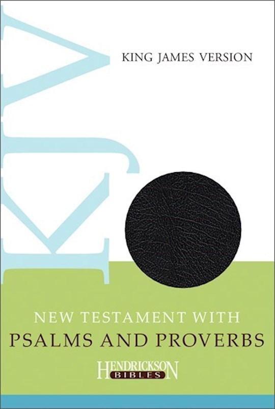 KJV New Testament With Psalms & Proverbs-Black Imitation Leather | SHOPtheWORD