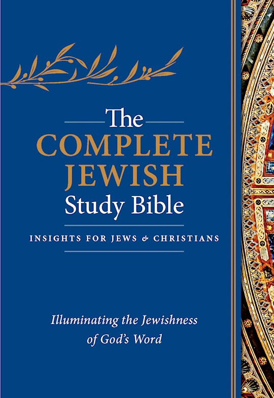 The Complete Jewish Study Bible-Blue Flexisoft | SHOPtheWORD