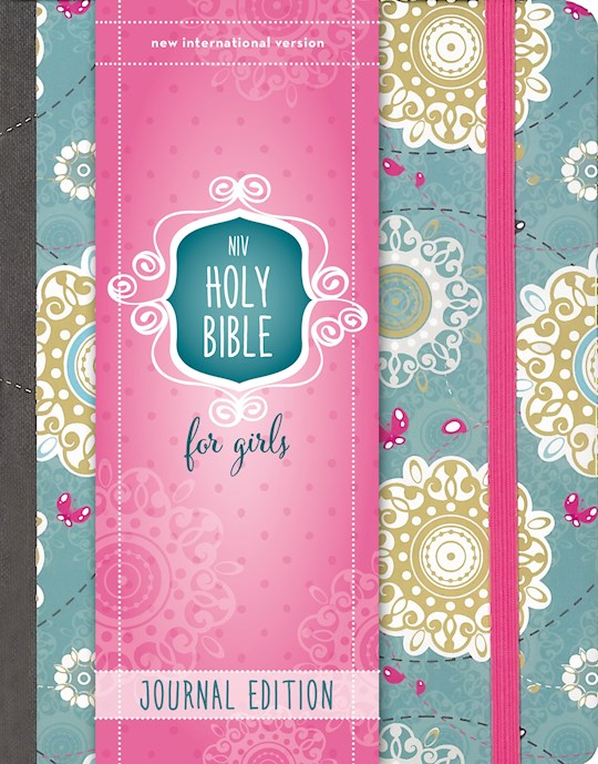 NIV Holy Bible For Girls/Journal Edition-Printed Turquoise Hardcover | SHOPtheWORD