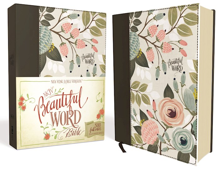 NKJV Beautiful Word Bible-Floral Multicolor Hardcover | SHOPtheWORD