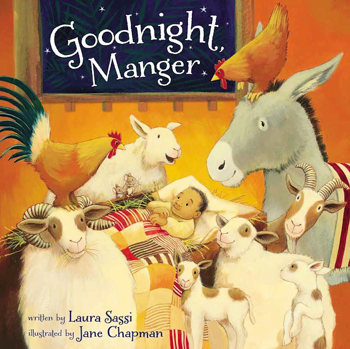 Goodnight, Manger Board Book by Laura Sassi | SHOPtheWORD