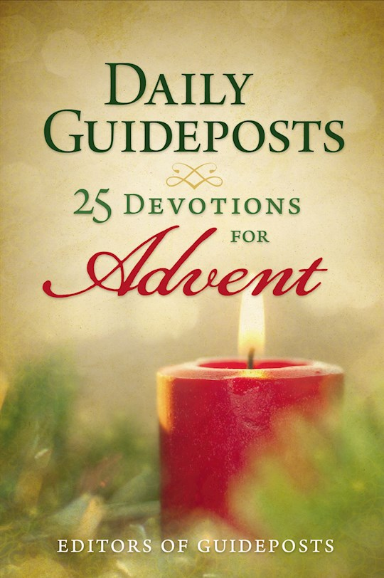 Daily Guideposts: 25 Devotions For Advent by Guideposts | SHOPtheWORD