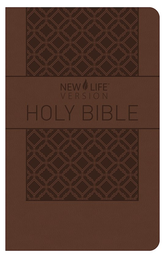 NLV Holy Bible-Brown Softcover | SHOPtheWORD