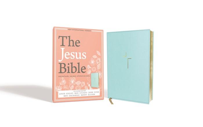 NIV The Jesus Bible-Blue Duo-Tone | SHOPtheWORD