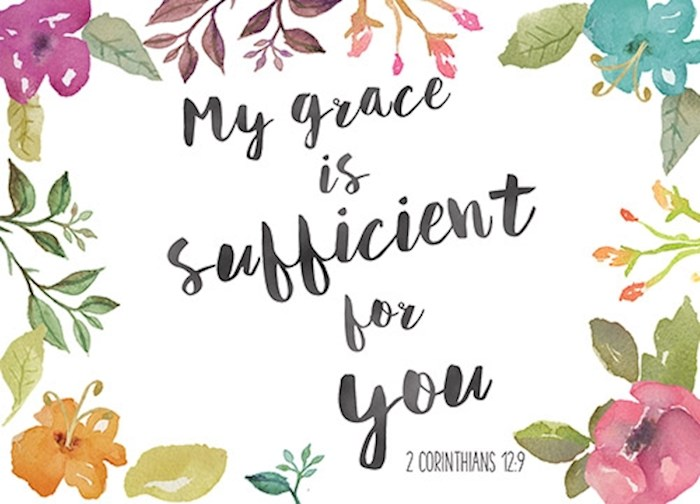 Postcard-My Grace (6 x 4.25) (Pack Of 6) | SHOPtheWORD