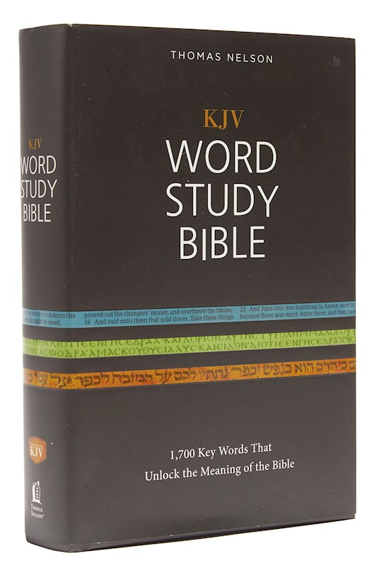 KJV Word Study Bible-Hardcover | SHOPtheWORD