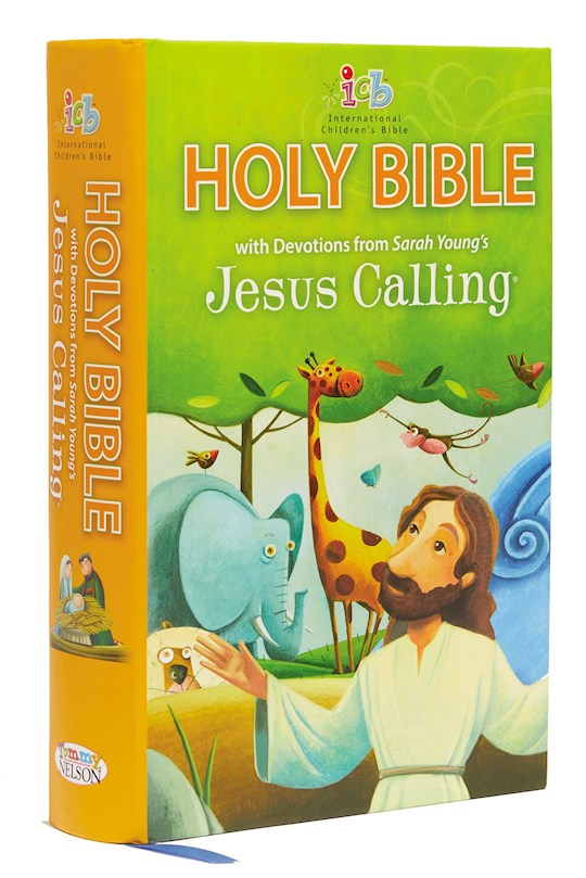 ICB Jesus Calling Bible For Children-Hardcover | SHOPtheWORD