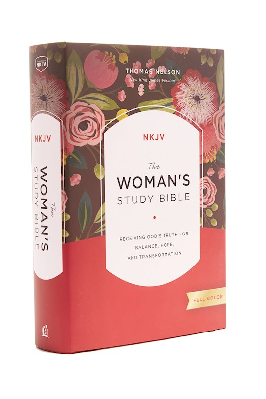 NKJV Woman'S Study Bible (Full Color)-Multicolor Hardcover | SHOPtheWORD