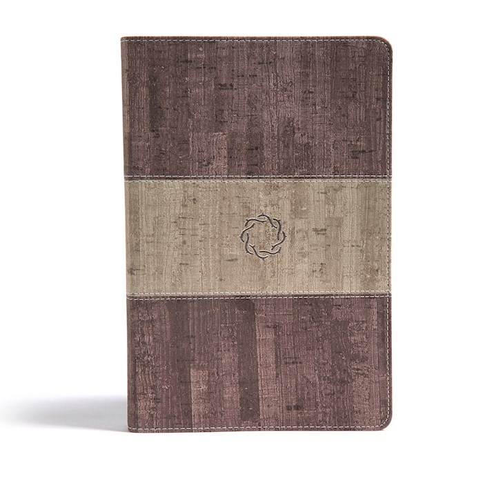 CSB Essential Teen Study Bible-Weathered Gray Cork LeatherTouch | SHOPtheWORD