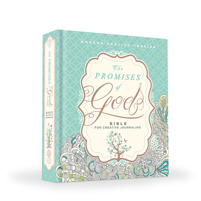 MEV Promises Of God Creative Journaling Bible-Hardcover | SHOPtheWORD