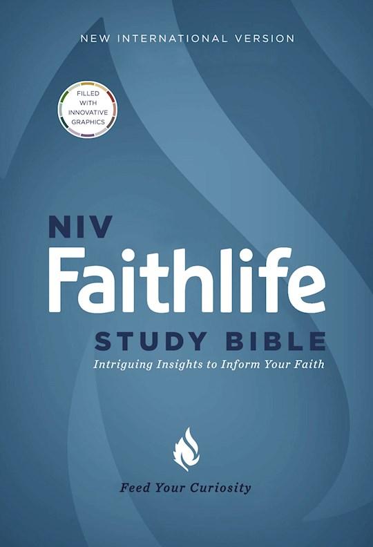 NIV Faithlife Study Bible-Hardcover | SHOPtheWORD