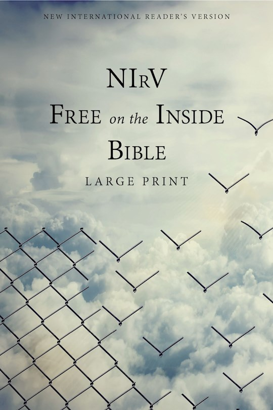 NIrV Free On the Inside Large Print Bible-Softcover  | SHOPtheWORD