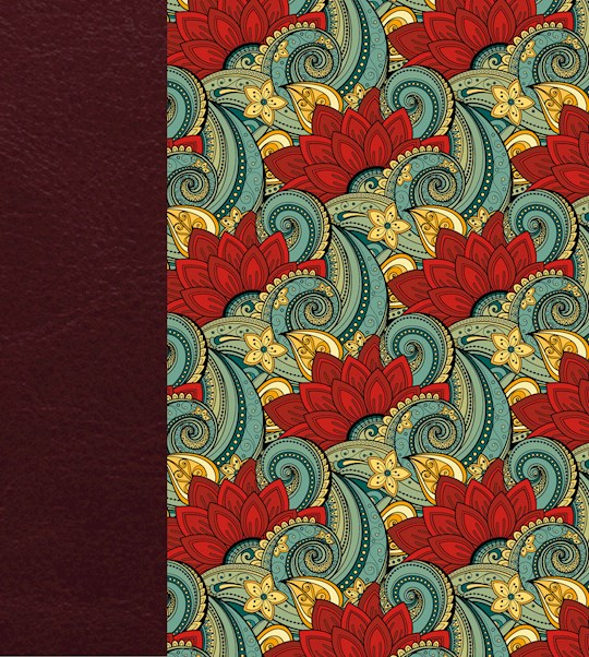 KJV Expressions Bible-Deluxe Floral Hardcover | SHOPtheWORD