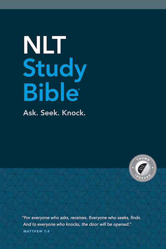 NLT Study Bible-Hardcover Indexed | SHOPtheWORD