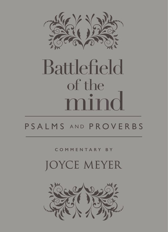 Battlefield Of The Mind Psalms And Proverbs-Light Grey Euroluxe | SHOPtheWORD