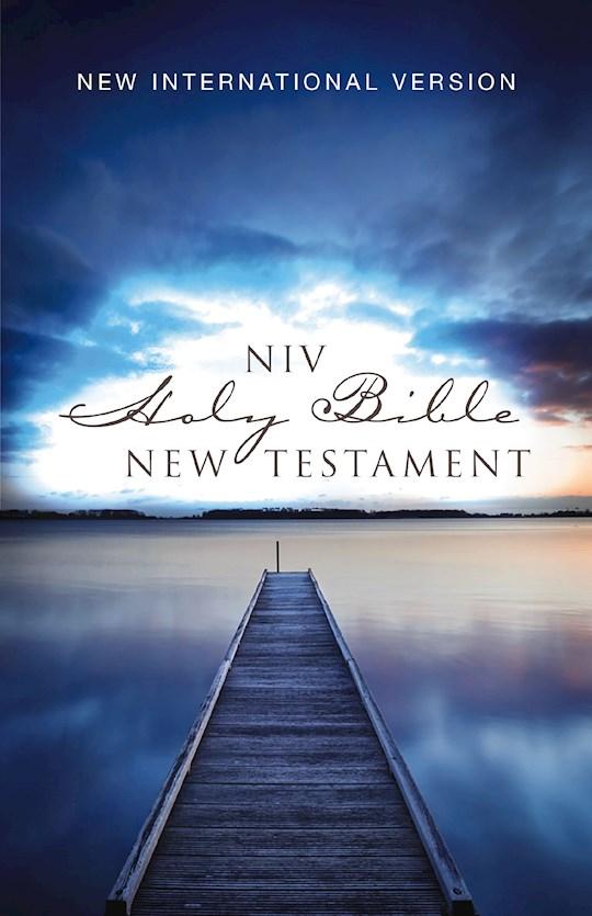 NIV Outreach New Testament-Blue Pier Softcover | SHOPtheWORD