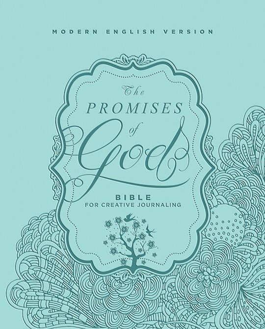 MEV Promises Of God: Bible For Creative Journaling-Imitation Leather | SHOPtheWORD