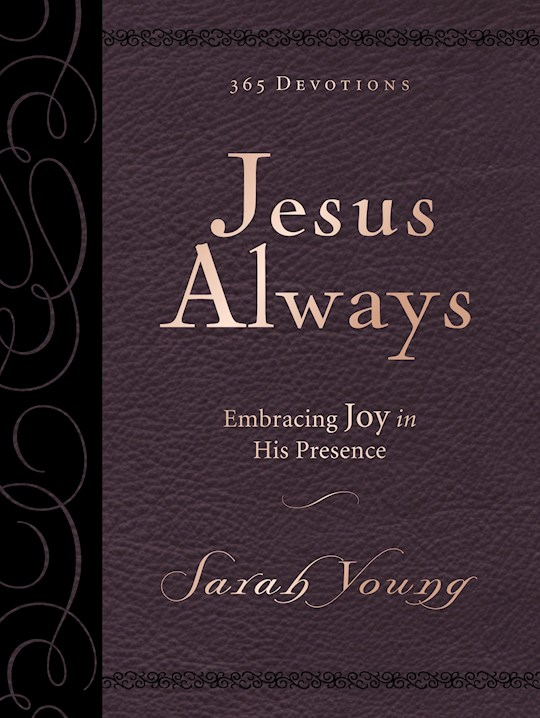 Jesus Always Large Print Deluxe Edition by Sarah Young | SHOPtheWORD