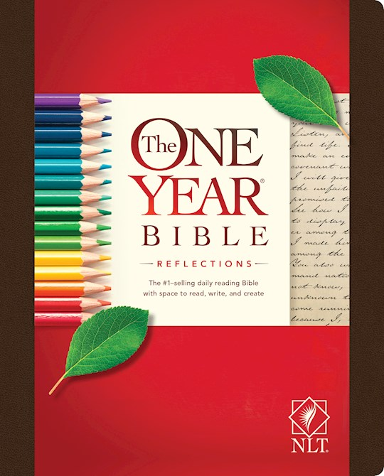 NLT One Year Bible Reflections Edition-Hardcover (Not Available-Out Of Print) | SHOPtheWORD