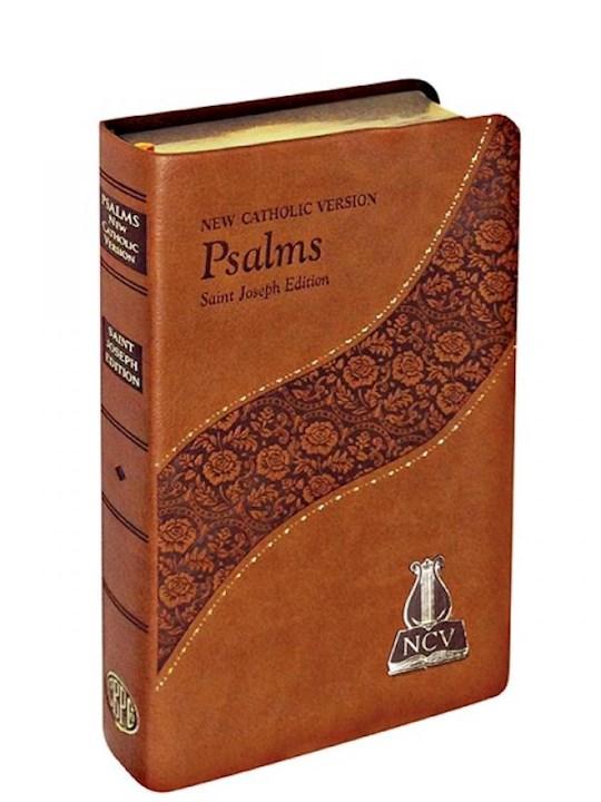 New Catholic Version St. Joseph Edition Psalms-Brown Dura-Lux Imitation Leather | SHOPtheWORD