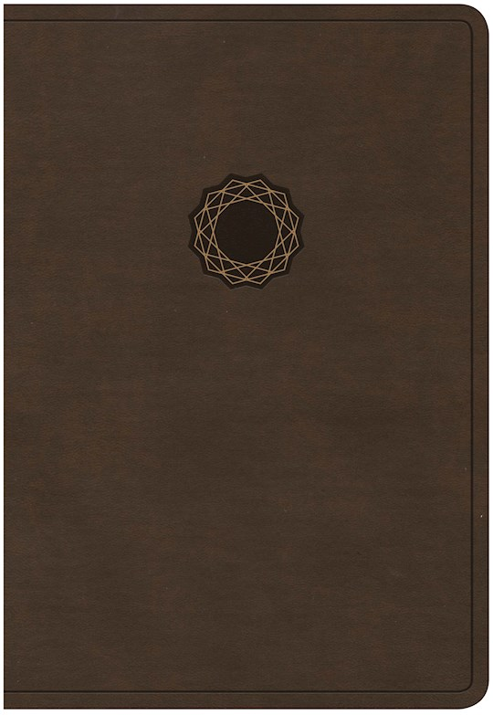 KJV Deluxe Gift Bible-Brown/Tan LeatherTouch   SHOPtheWORD