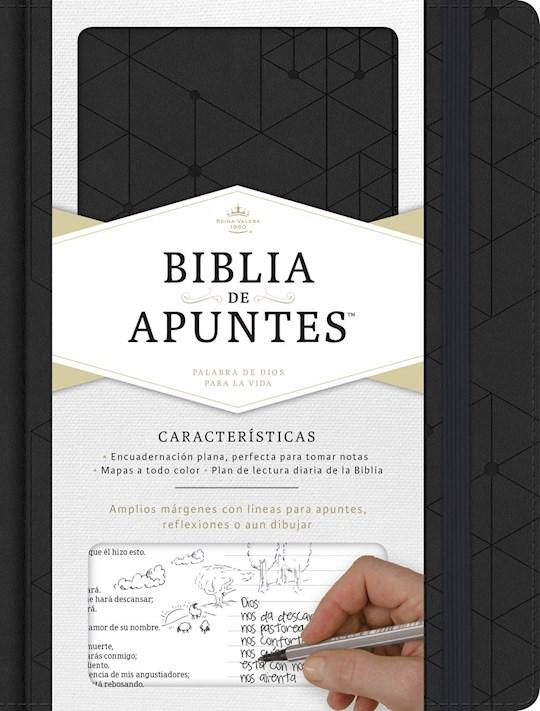 Span-RVR 1960 Notetaking Bible-Black LeatherTouch | SHOPtheWORD
