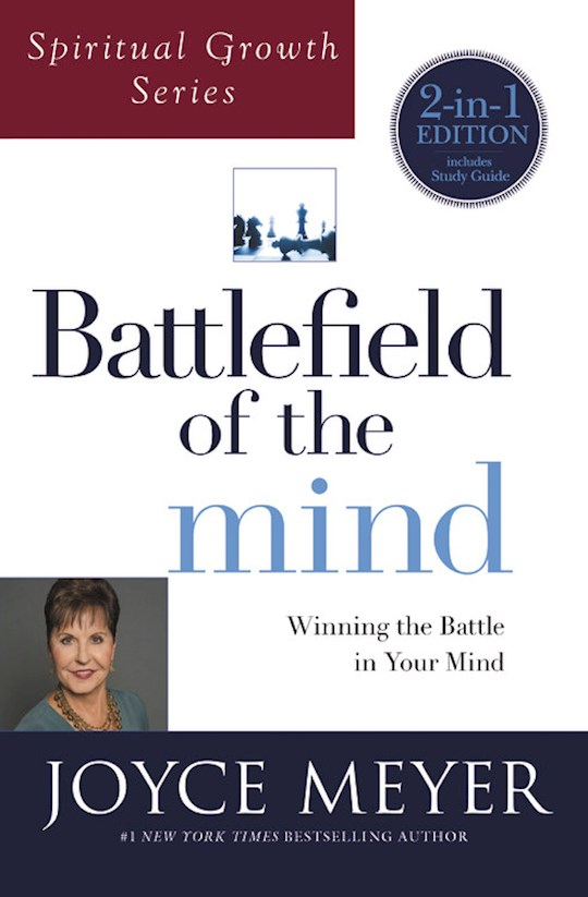 Battlefield Of The Mind (Spiritual Growth Series) by Joyce Meyer | SHOPtheWORD