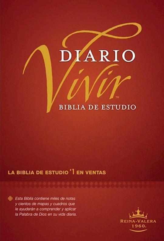 Span-RVR 1960 Life Application Study Bible (Biblia de Estudio del Diario Vivir)-Burgundy Hardcover  | SHOPtheWORD