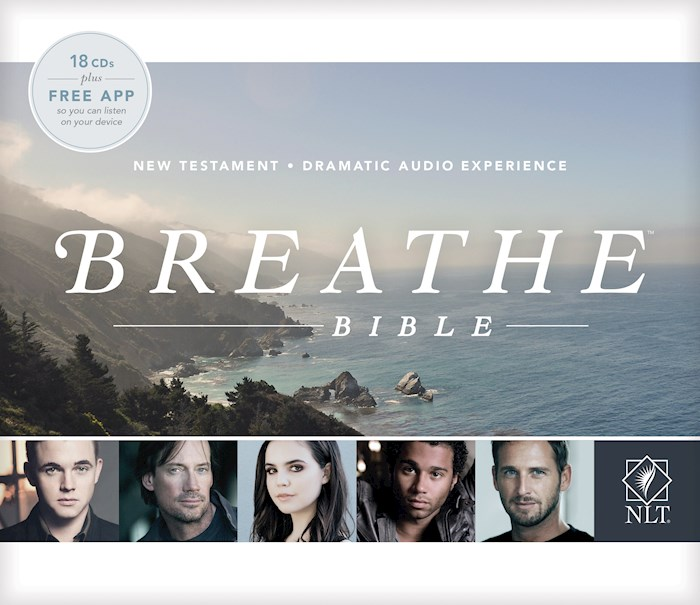 Audio CD-NLT Breathe Bible Audio New Testament (18 CD) | SHOPtheWORD